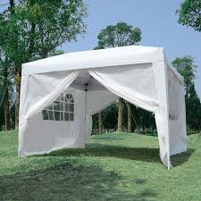 outsunny 13 x 13 ft large pop up tent outdoor party gazebo patio