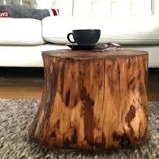 wood stump coffee table wood stump coffee tables tree stump table stump side table log side