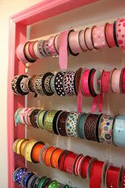 Diy Bedroom Organization And Storage Ideas Best 25 Ribbon Organization Ideas On Pinterest Ribbon Storage