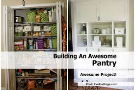 diy kitchen pantry ideas coffee table building awesome pantry cabinet plans included