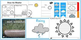 weather activity pack season weather activities weather