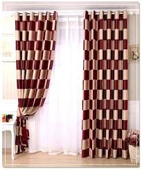 Sheer Burgundy Curtains Gorgeous Design Burgundy Curtains For Living Room Modest Floral