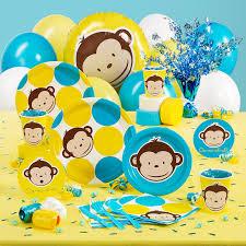 photo monkey themed baby shower invitations image