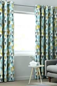 Gray And Yellow Curtains Teal And Gray Curtains White Teal Grey Eyelet Curtains 8libre