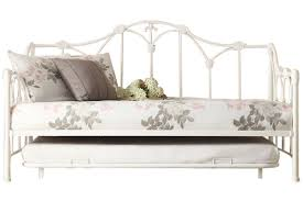 amber white daybed with trundle at gardner white