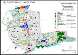 map of karachi dha city karachi dck map master plan dha today