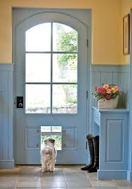 sliding glass door with built in dog door 22 best who let the dogs out dog doors images on pinterest pet