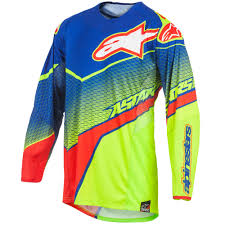 alpinestars motocross jersey alpinestars techstar venom motocross mx dirt bike race riding