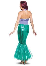 Mermaid Halloween Costume Adults Mermaid Disney Ariel Deluxe Costume
