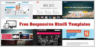 free responsive html templates html5xcss3 free responsive html5 and css3 templates