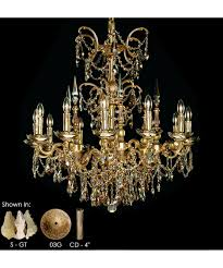 Bronze And Crystal Chandeliers American Brass And Crystal Ch9382 Venetian 32 Inch Wide 12 Light