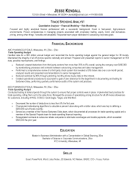 Sample Financial Reporting Manager Resume Derivatives Trader Resume Resume For Your Job Application