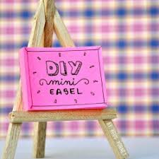Small Easel Desk Calendar Diy Easel Desk Calendar U2013 Craftbnb