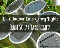 how to make a solar light from scratch diy emergency lights from solar yard lights backdoor survival