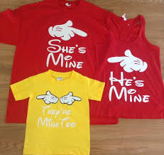 free shipping for i m hers i m his matching family