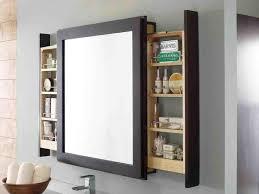 Bathroom Mirror And Shelf Bathroom Mirror With Shelf Attached New Home Design The Secret