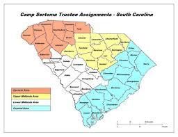Clemson University Map Camp Sertoma Contact