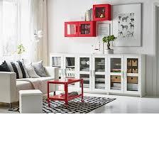 muebles salon ikea salón en blanco con muebles brimnes en blanco y estantería y mesa de