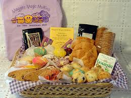 ohio gift baskets maggies magic muffins muffin baskets boardman oh