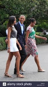 president barack obama first lady michelle obama and malia obama