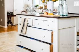 Furniture Kitchen Storage Need More Kitchen Storage Turn A Dresser Into An Island Hometalk