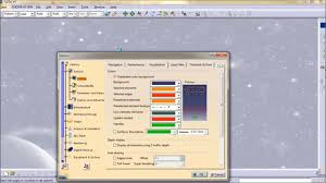 catia tutorial how to change workbench background coloure youtube