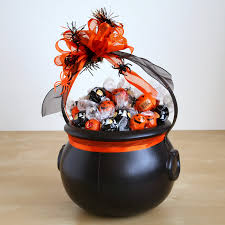 Send Halloween Gift Baskets Happy Halloween Candy Gift Tote Gift Basket Hayneedle