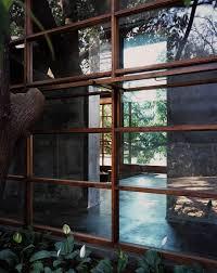 paradise backyard studio mumbai architecture detail