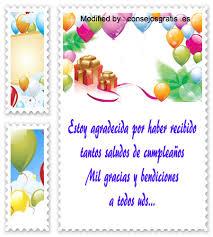 imagenes bonitas de cumpleaños para el facebook top agradecimientos de cumpleaños tarjetas de agradecmiento