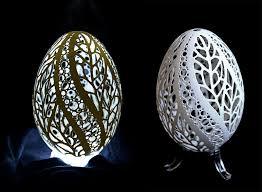 decorated goose eggs artist piotr bockenheim puts your easter egg decorating to shame