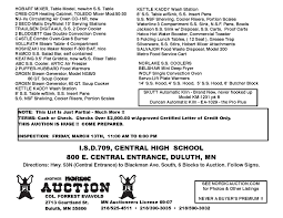 black friday duluth mn public schools auction central high mar 14