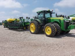 John Deere 7200 Planter by Great Big John Deere Combonation 8360r Hooked To 48 Row Db 60 Corn