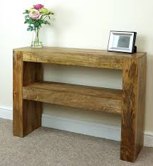 mango wood console table console table