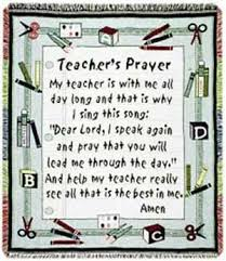 a teachers prayer lord let me be just what they need if they