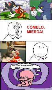 Oh God What Have I Done Meme - tom y jerry