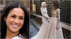 wedding dress for inbal dror has potential designs for meghan markle s wedding