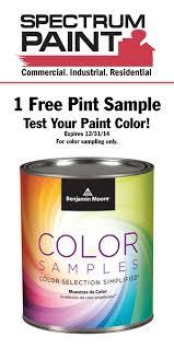 coupon spectrum paint
