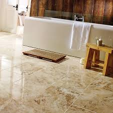 wickes beige polished marble floor tile 457 x 305mm wickes co uk