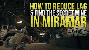 pubg miramar how to reduce lag find the secret mine in miramar pubg guide
