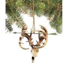 buck ornament at legendary whitetails