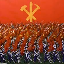 Communist Flag Russia Inside North Korea U0027s Colourful Arirang Festival Daily Mail Online