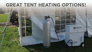 heated tent rental heating options during the polar vortex party tent rentals for