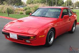 porsche 944 tuned porsche 944 coupe red all original 5 spd a c 9687 miles 2 5l mint