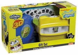 viewmaster spongebob squarepants gift set