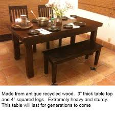 Sturdy Kitchen Table by 14 Best Modern Rust Rustic Kitchen Tables Images On Pinterest