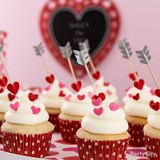 Valentine Decoration Ideas For Party by Cupids Arrow Cupcake Idea Valentines Day Baking Party Ideas