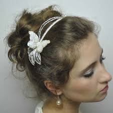 wedding hair bands butterfly touch handmade wedding hair band