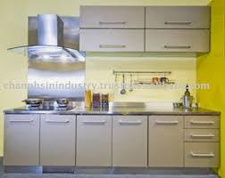 buy kitchen furniture kitchen kitchen cabinet grey high gloss wood metal furniture