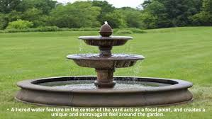 5 types of outdoor water fountains that enhance the beauty of your ba u2026