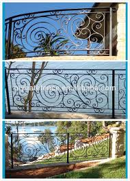 decorative wrought iron stair panels ornamental wrought iron